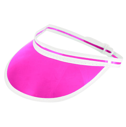 Small Pink Poker Visor Hat