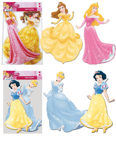 2 Disney Princess Cutouts