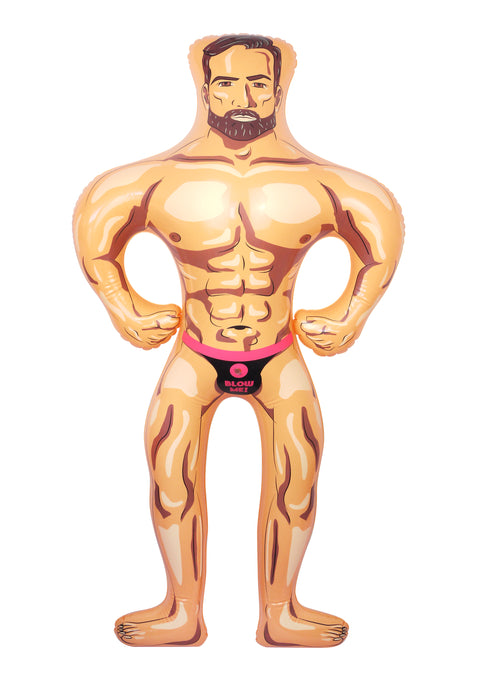 Inflatable Male Hunk Doll