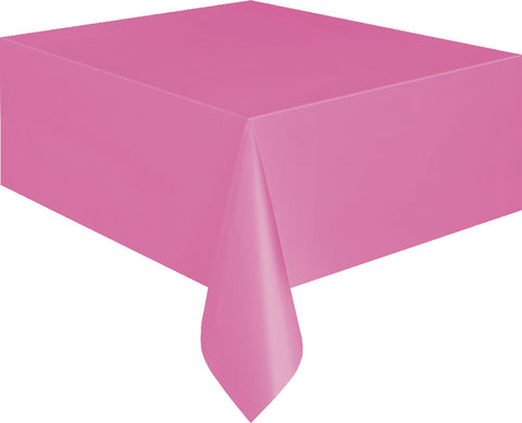 Hot Pink Rectangular Tablecover