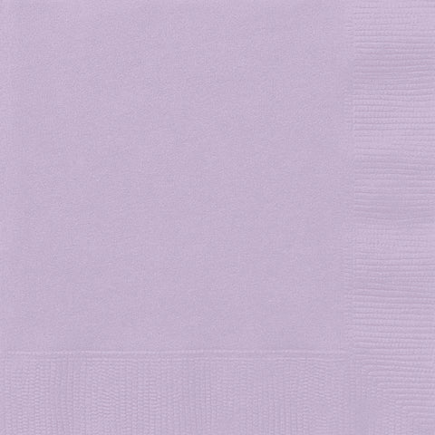 20 Lavender Luncheon Napkins