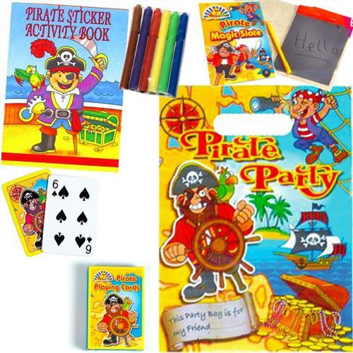 Pirate - Filled Party Bag - Party Perfecto