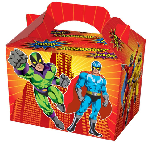 10 Super Hero Boxes