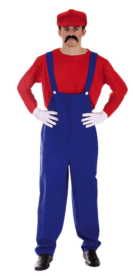Adult Super Workman Costume - Red