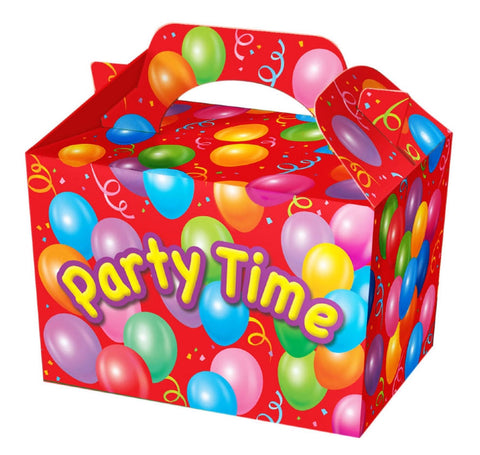 10 Party Time Boxes