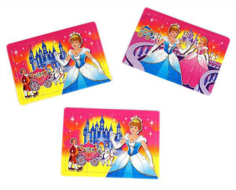 6 Princess Jigsaw Puzzles