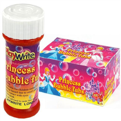 24 Princess Bubble Tubs 25ml