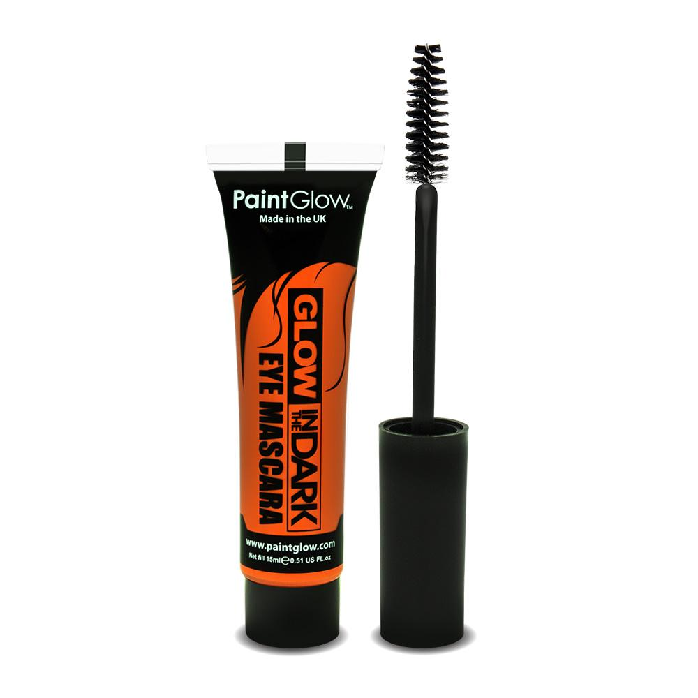 Orange - Glow In The Dark Mascara - Party Perfecto