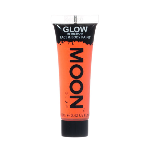 Moon Glow - Glow In The Dark Orange - Party Perfecto