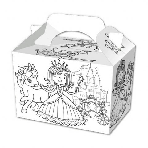 10 Colour In Princess Boxes