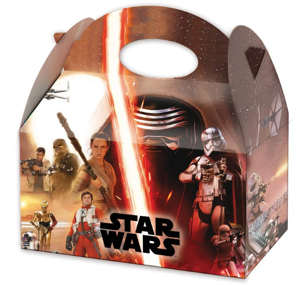 6 Star Wars Party Boxes