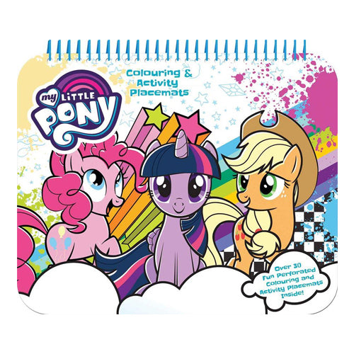 My Little Pony Colouring & Activity Placemats