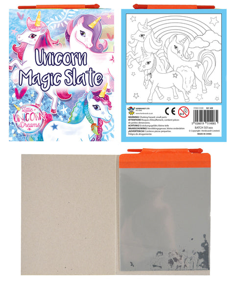 6 Unicorn Magic Slates