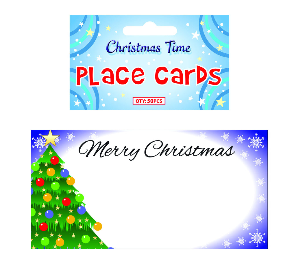 50 Christmas Place Cards