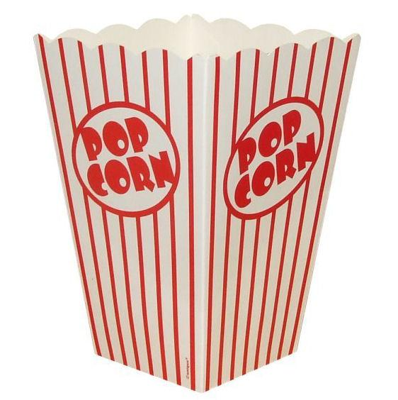 10 Popcorn Boxes - Large - Party Perfecto