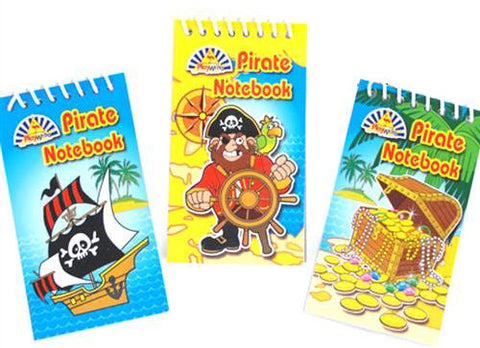 6 Pirate Notebooks