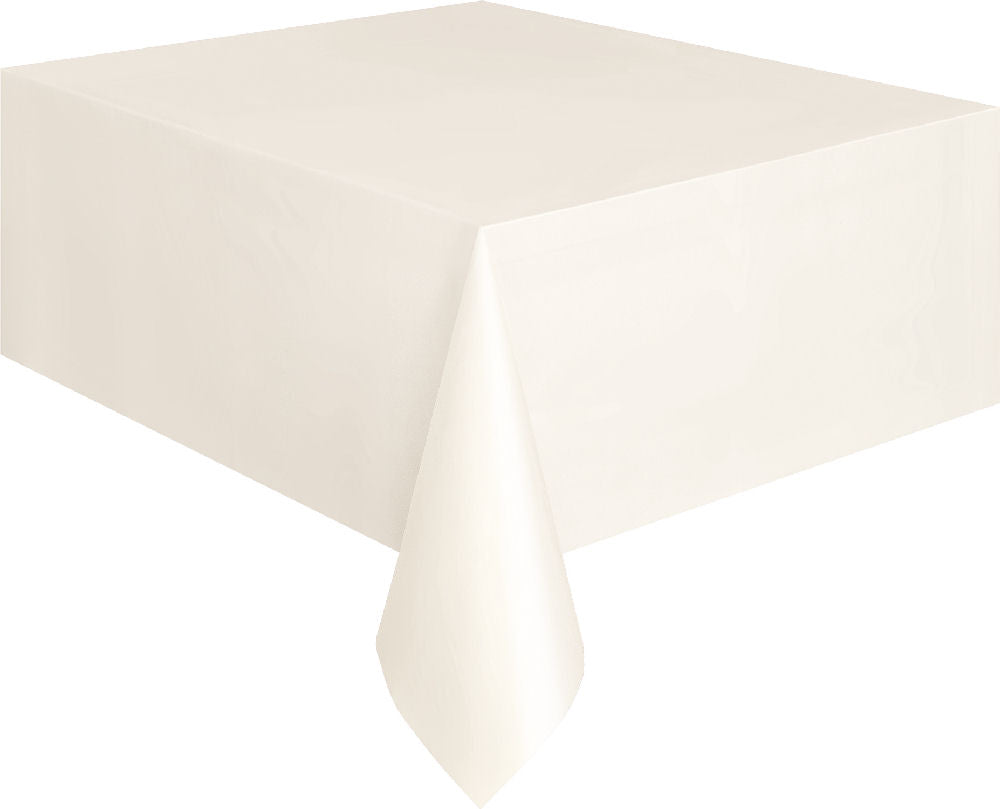 Ivory Rectangular Tablecover