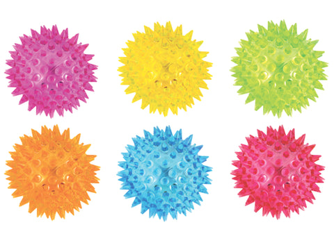 Neon Flashing Spikey Ball