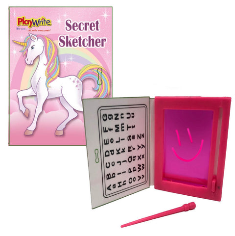 6 Unicorn Secret Sketchers