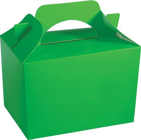 10 Neon Green Boxes
