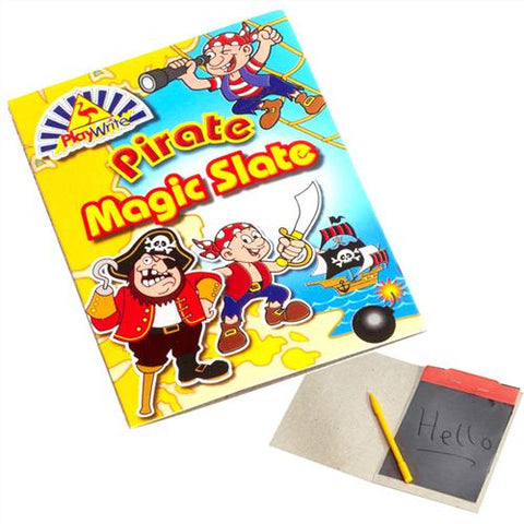6 Pirate Magic Slates