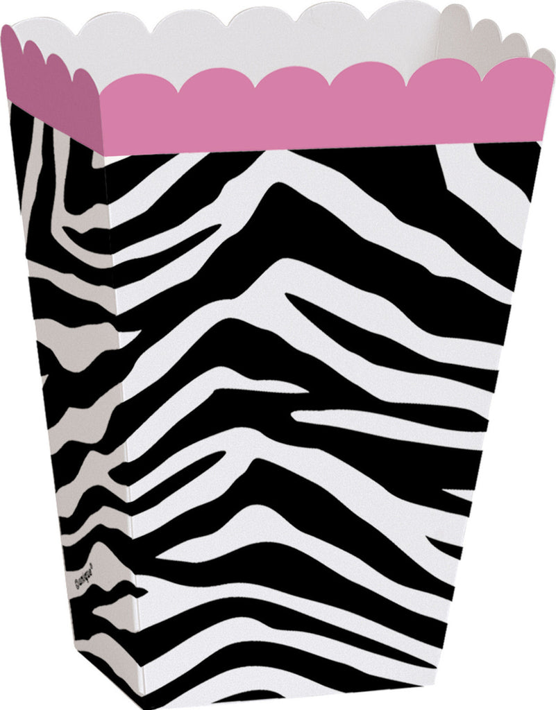 8 Zebra Treat Boxes