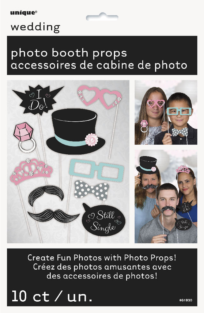 10 Wedding Photo Props