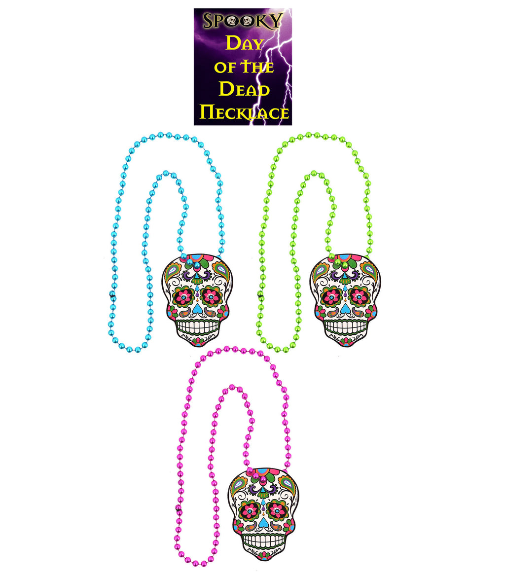 3 Day Of The Dead Necklaces