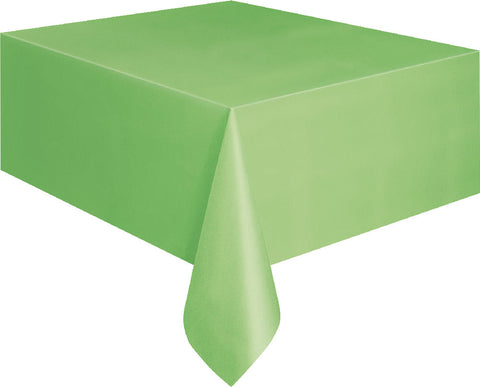 Lime Green Rectangular Tablecover