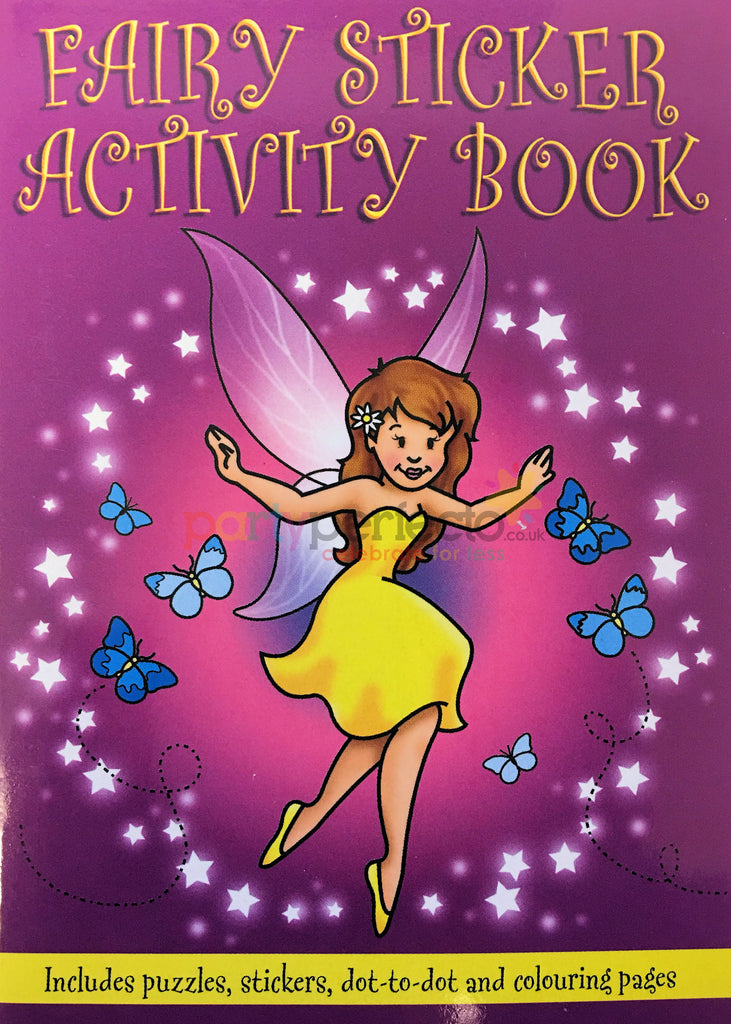 6 Fairy Sticker Activity Books