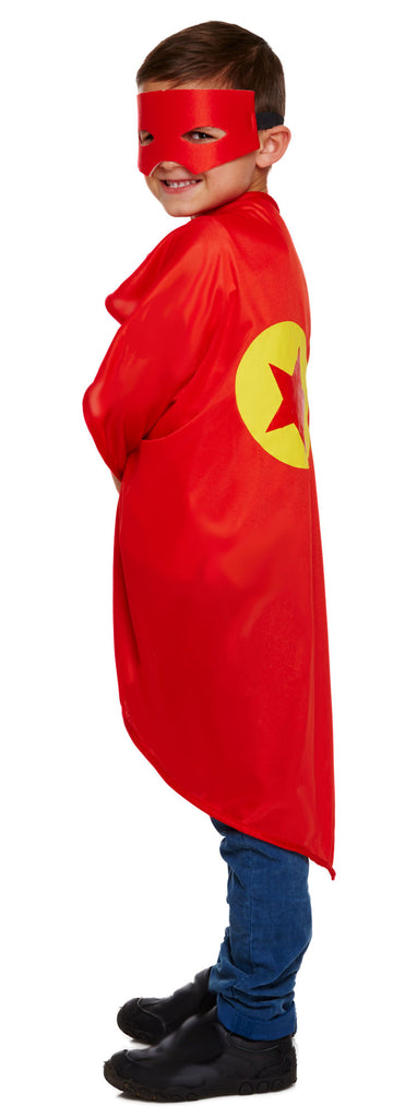 Childs Super Hero Costume - Red - Party Perfecto
