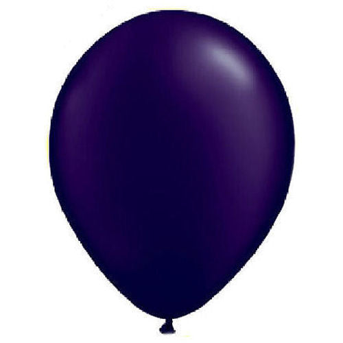 "72 Amethyst Purple 5"" Latex Balloons"