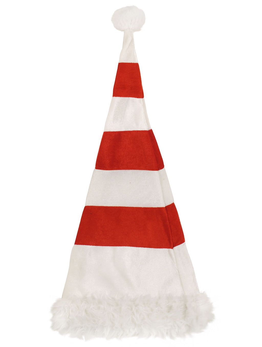 Tall Christmas Hat - Red & White - Party Perfecto
