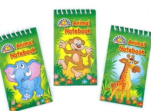 6 Zoo Animal Notebooks