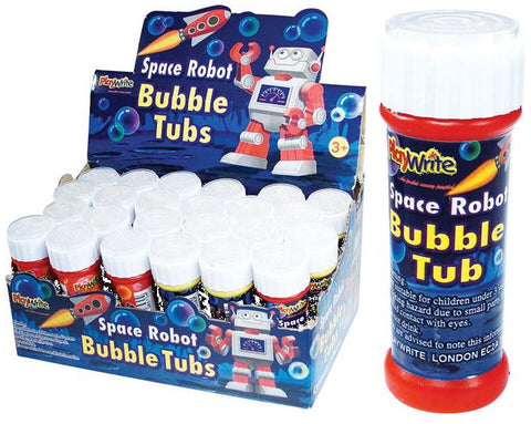 24 Space Robot Bubble Tubs 25ml