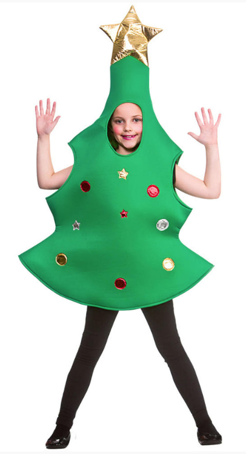 Child Christmas Tree Costume - 10-12 Years