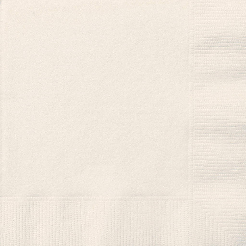 20 Ivory Luncheon Napkins