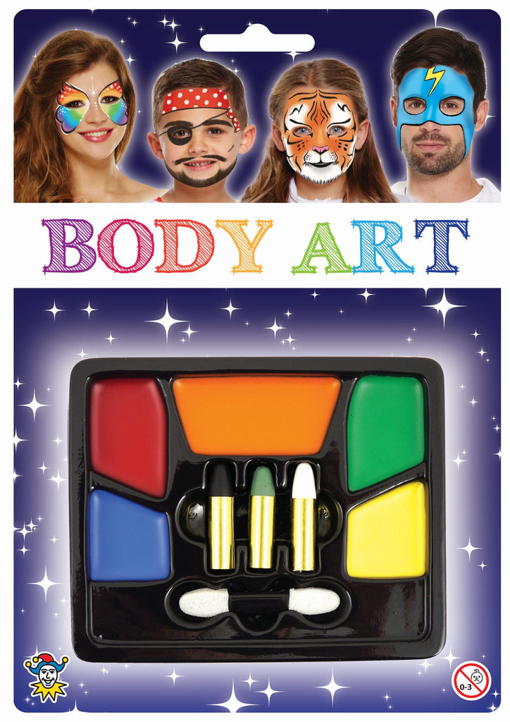 Body Art - Face Paint Tray - Party Perfecto