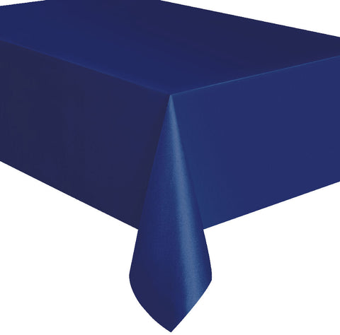 True Navy Blue Rectangular Tablecover