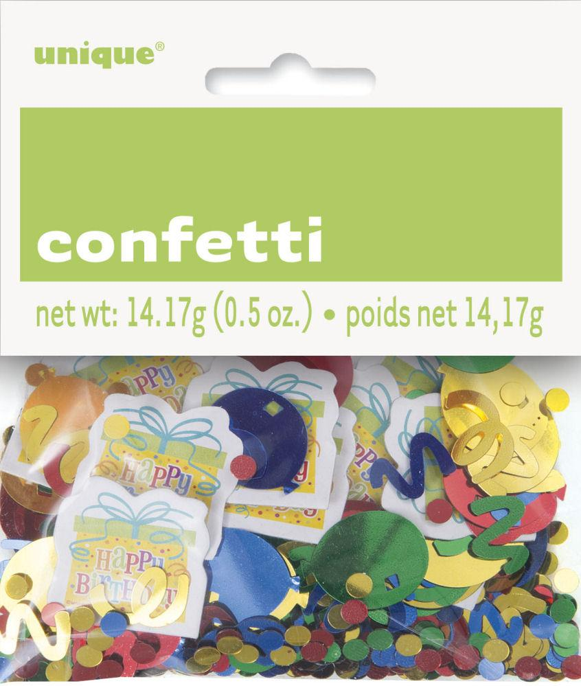 Presents & Balloons Confetti - Party Perfecto