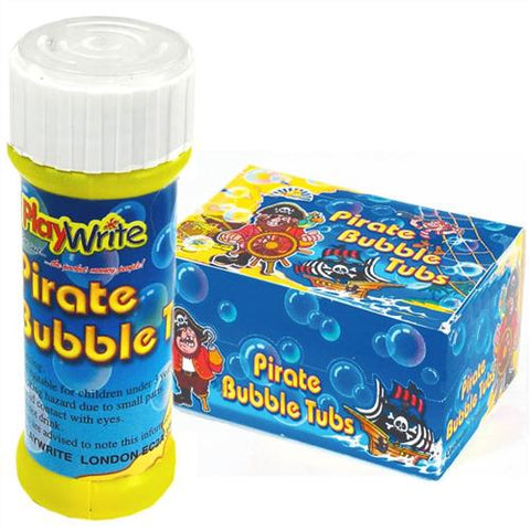 24 Pirate Bubble Tubs 25ml