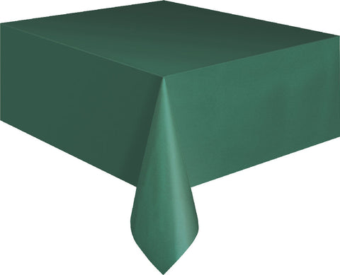 Forest Green Rectangular Tablecover