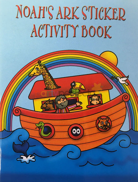 6 Noah's Ark Sticker Activity Books