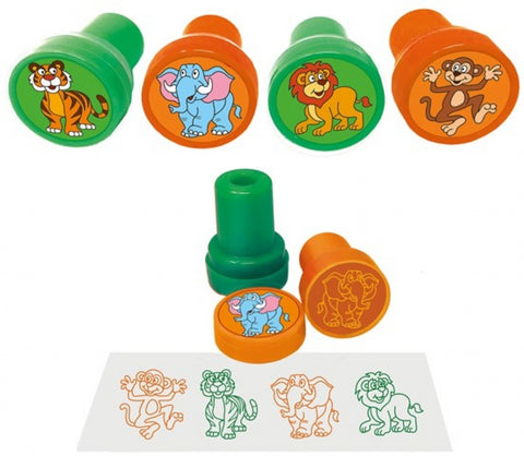 6 Jungle Ink Stamps