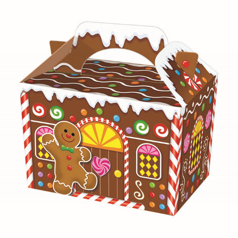 10 Gingerbread Man Boxes