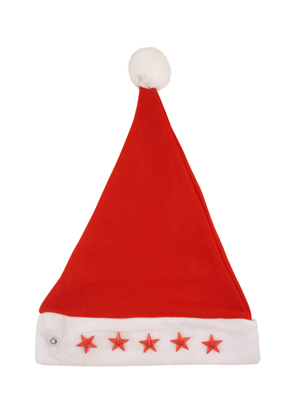 Adult Light Up Star Christmas Hat