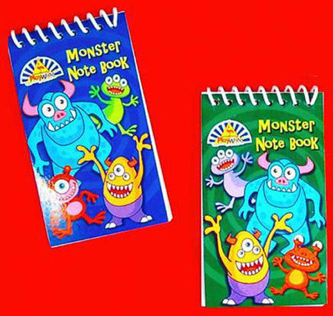6 Monster Notebooks