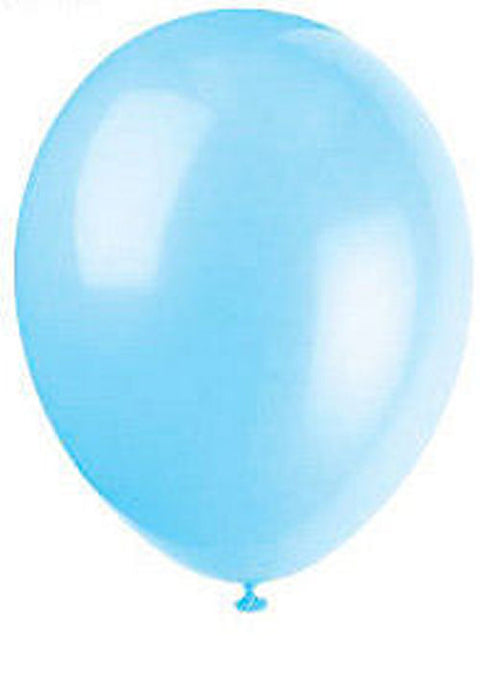 50 Cool Blue Latex Balloons