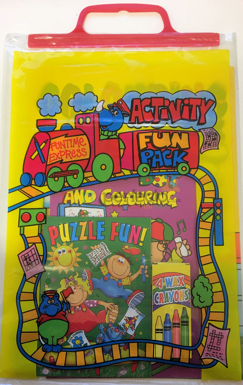 Activity Fun Pack (Yellow)