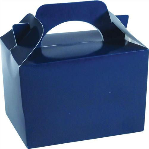 10 Dark Blue Boxes - Party Perfecto